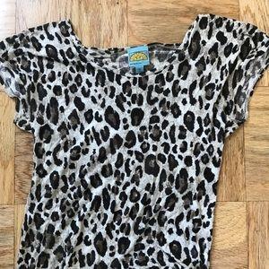 C & C California Leopard print t-shirt